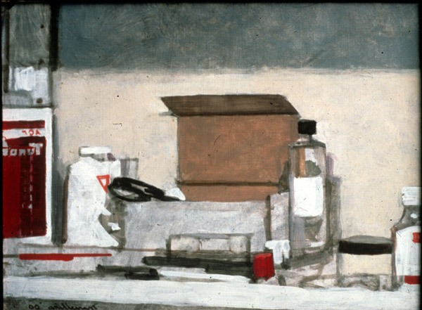 Still-life with Art Supplies